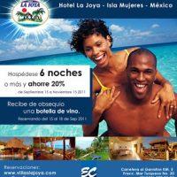 Hotel Villas La Joya el Garrafon Isla Mujeres