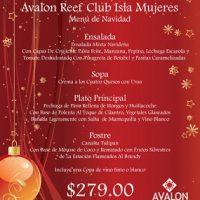 Cena de Nochevieja y año Nuevo en Isla Mujeres