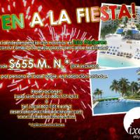 Festeja la Independencia en Isla Mujeres
