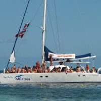 Catamaran to Isla Mujeres naked tour