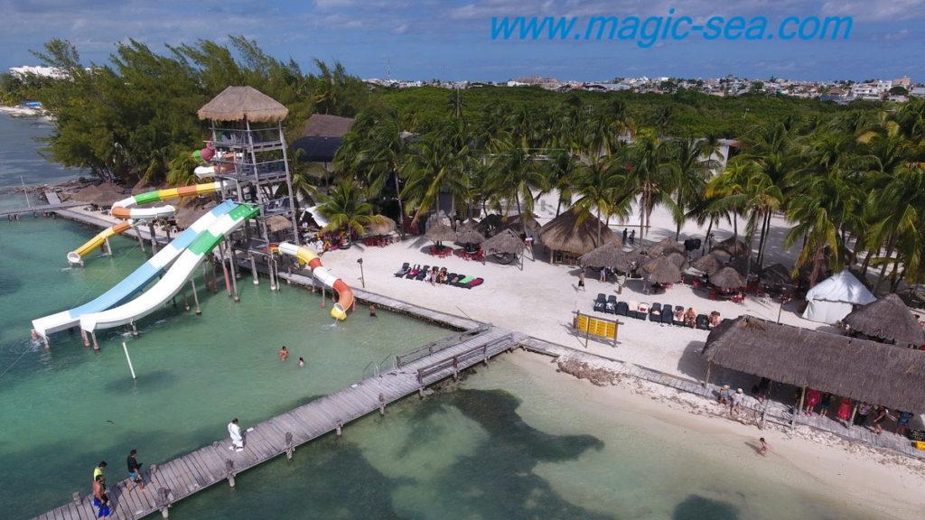 Pier at Beach Club Isla Mujeres