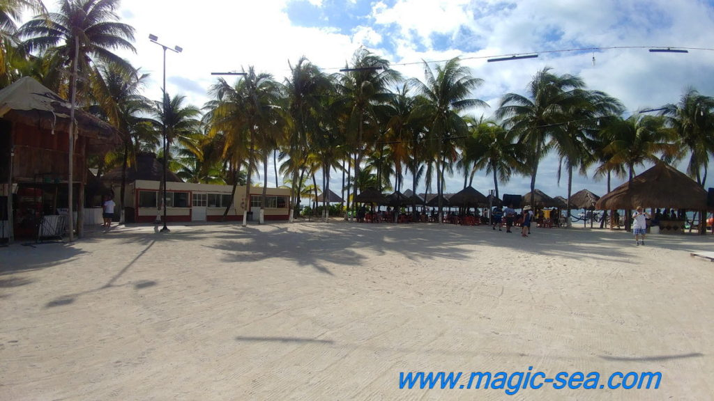 sand at Beach Club Isla Mujeres