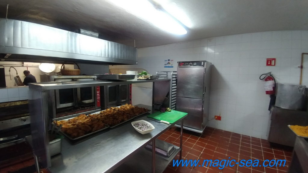 Beach Club Isla Mujeres kitchen