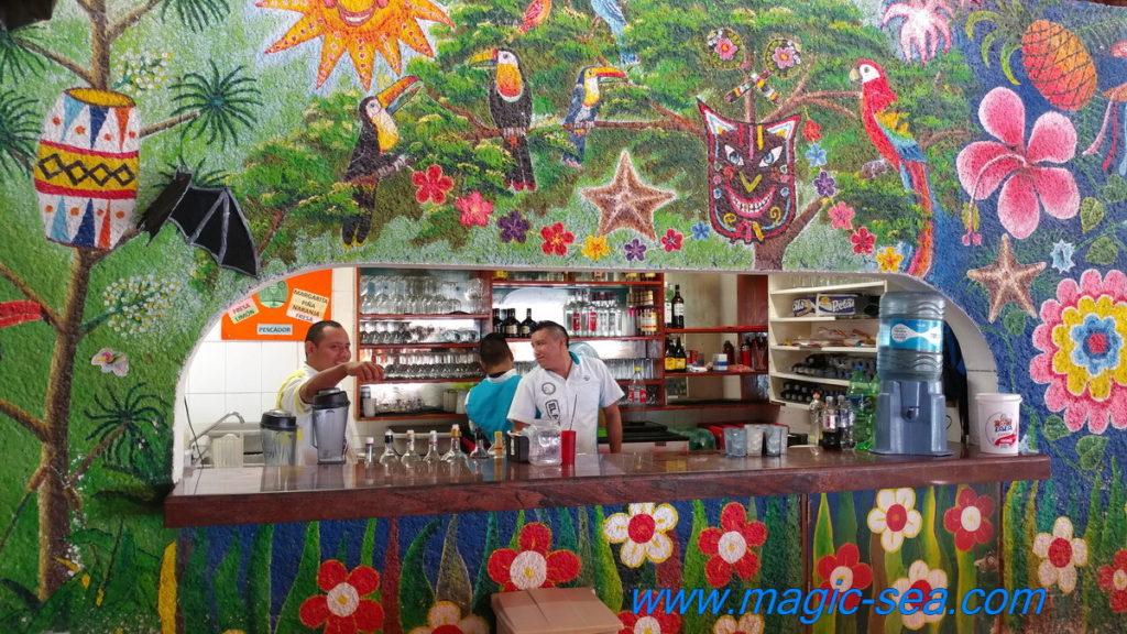 Beach Club Isla Mujeres bar