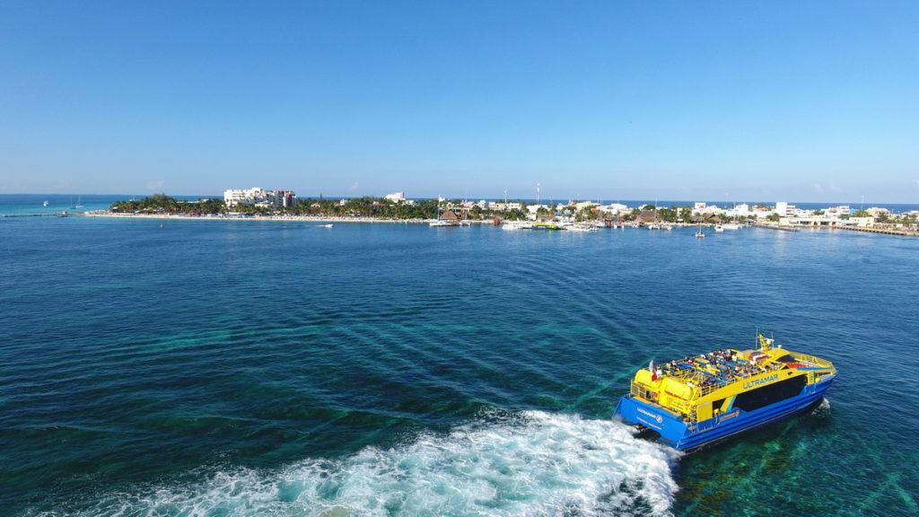 Ultramar shuttle to Isla Mujeres