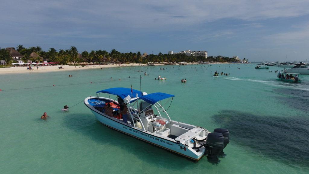 Isla Mujeres boats