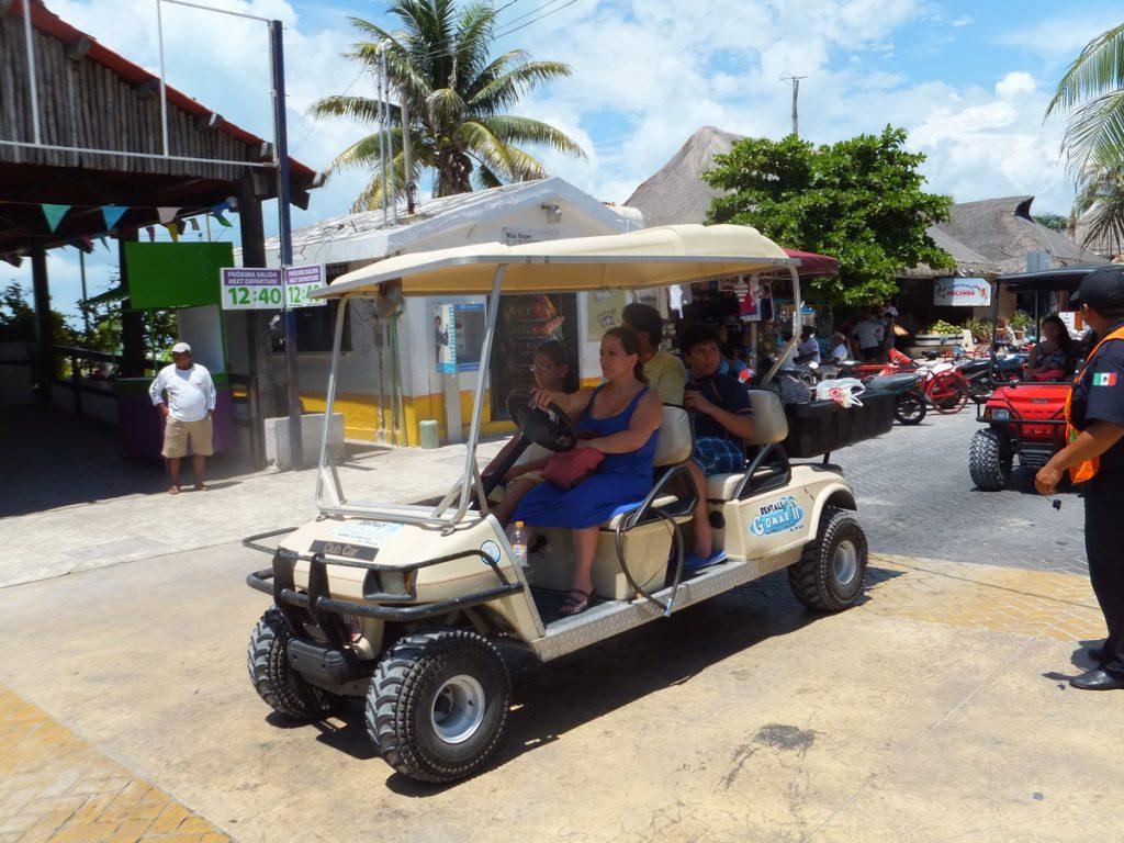 golf cart tour